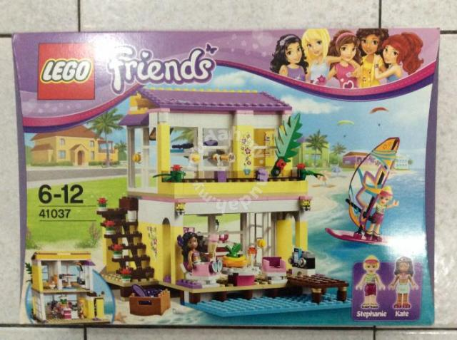 New Lego Friends Beach House 369pcs 6 12 Yrs Moms Kids For