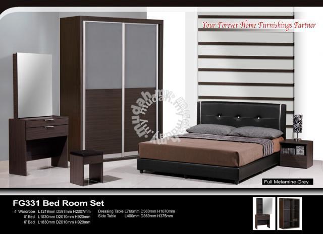 Bedroom Set Almari Baju Katil Meja Tepi Furniture Decoration For In Georgetown Penang