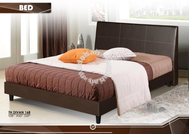 Divan Bed Katil Queen Size Cube Cabinet Furniture Decoration For In Georgetown Penang
