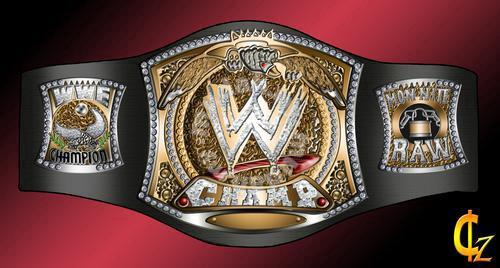 WWE WWF Raw Championship Title Belt tali pinggang - Sports & Outdoors for  sale in Puchong, Kuala Lumpur