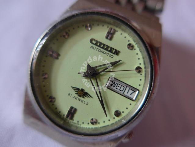 Citizen Automatic 7 Eagle 21 Jewels Green Watch Watches Fashion Accessories For Sale In Taman Melawati Kuala Lumpur