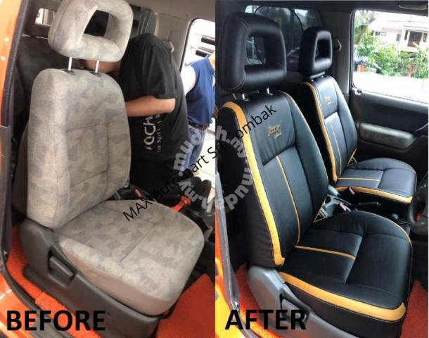 isuzu trooper 7-seat lec seat cover (all in) - car accessories