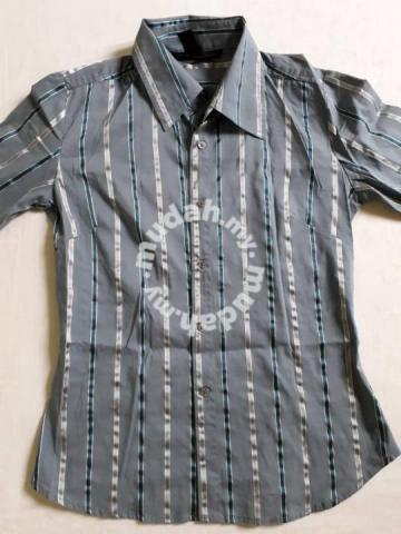 Kemeja Wanita Lengan Panjang - Saiz S Biru Kelabu - Clothes for sale in  Seremban aa4bdf8997