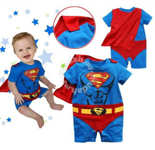 bf85c02d Spiderman Batman Superman Baby Kids Costume suit - Clothes for ...