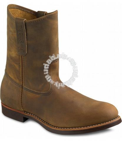 Work Boots Red Wing Men 9In Brown Pecos