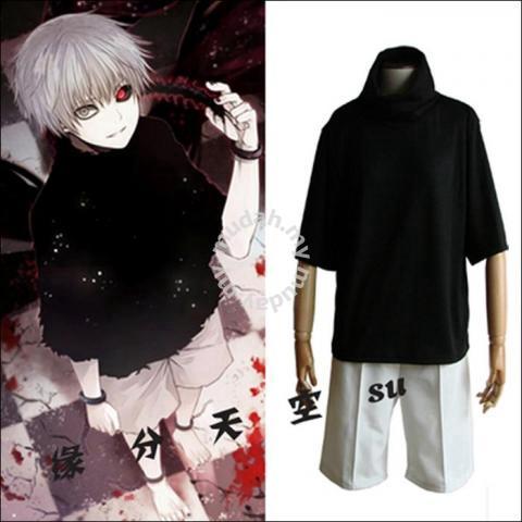 Tokyo ghoul kineki cosplay costume - Clothes for sale in Melaka ... 6f106e93c179