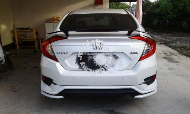 Honda Civic Fc Si Spoiler Abs With Painting Car Accessories