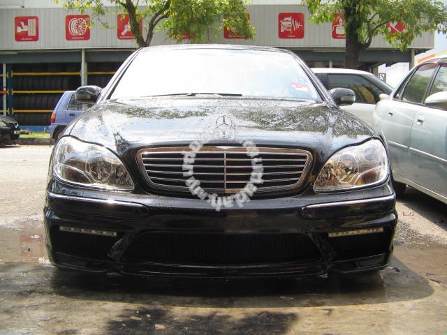 Mercedes s class w220 wald bodykit car accessories for Mercedes benz s550 parts and accessories