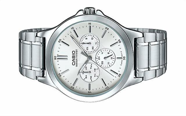 CASIO Men Multi Hands Analog Watch MTP-V300D-7AUDF