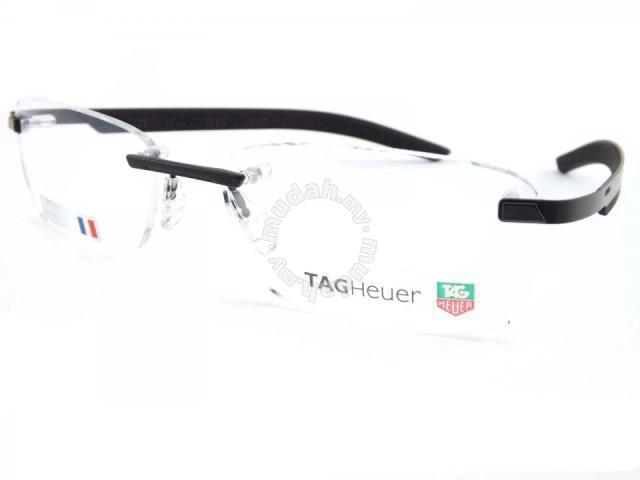 Original Tag Heuer TH3843 Rimless Frame Eyewear - Watches & Fashion ...