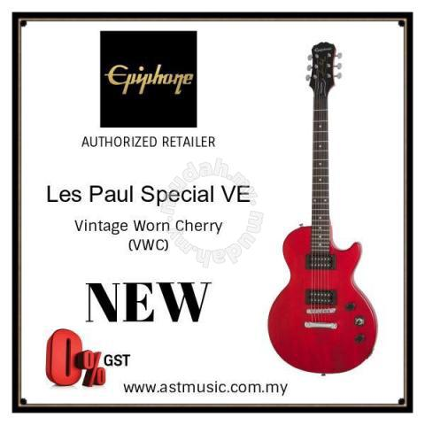 Epiphone Les Paul Special VE Electric Guitar VWC - Music Instruments for  sale in City Centre, Kuala Lumpur