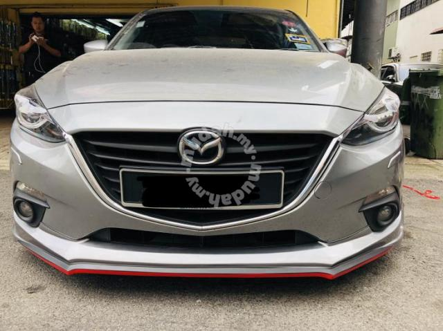 Silver Rear Bumper Sill Protector Body Kit Trim For Mazda CX5 Bumper 2017-2018