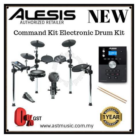 Alesis Command Kit Electronic Drum - Music Instruments for sale in City  Centre, Kuala Lumpur