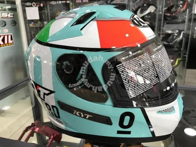 KYT Venom Fullface Helmet Andrea Locatelli Moto3