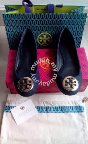 TORY BURCH shoe shoes kasut leather