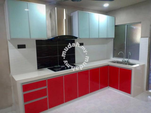 Aluminium Kabinet Dapur Tile Tahan Lama Atas Bawah Furniture Decoration For Sale In Alor Setar Kedah Mudah My