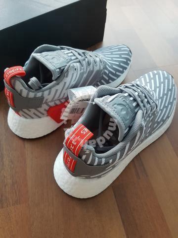 size 40 4c52f 2c881 Adidas Originals NMD R2 (Grey)