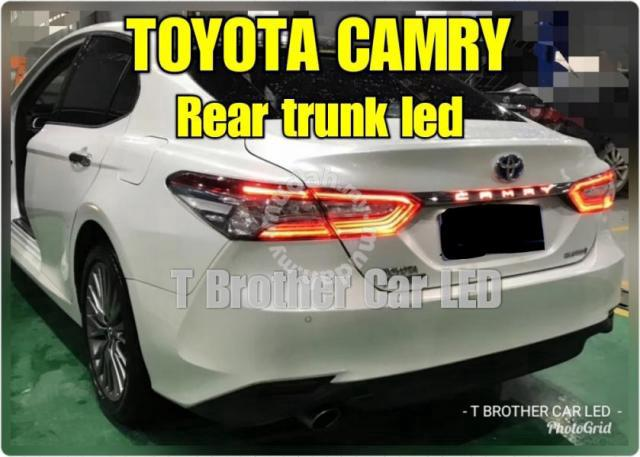 Toyota Camry Accessories >> Toyota Camry Rear Trunk Led 2019 Car Accessories Parts For Sale In Puchong Selangor