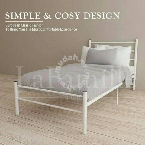 Katil Besi Simple Design Furniture Decoration For Sale In Others Kuala Lumpur Mudah My
