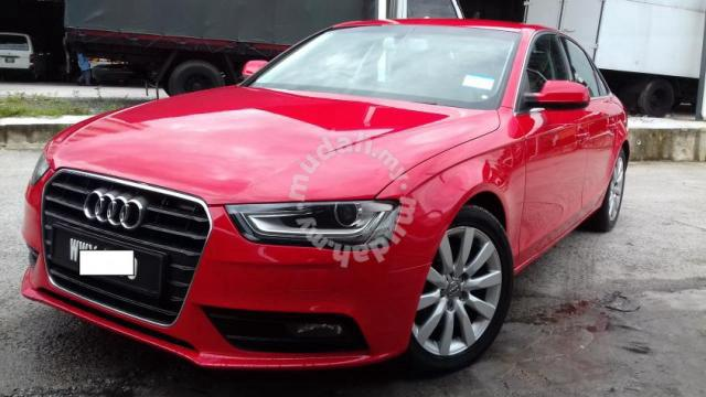 2013 Audi A4 1.8 (A)new Facelift 8 SPEED TURBO   Cars For Sale In Puchong,  Kuala Lumpur