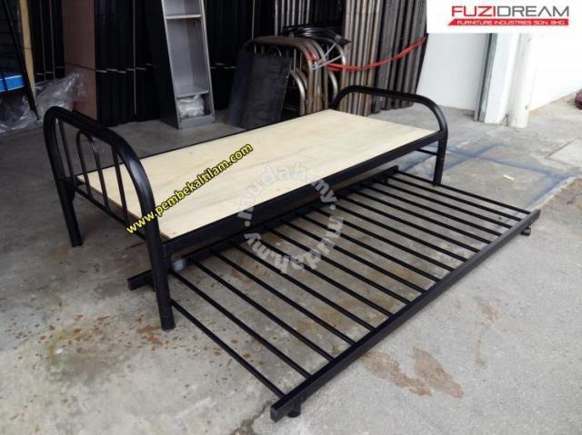 Katil Besi Single Dengan Pull Out Bed Bath For In Ipoh Perak
