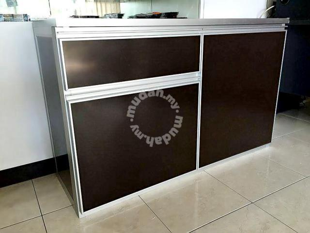 Full Aluminium Kitchen Cabinet