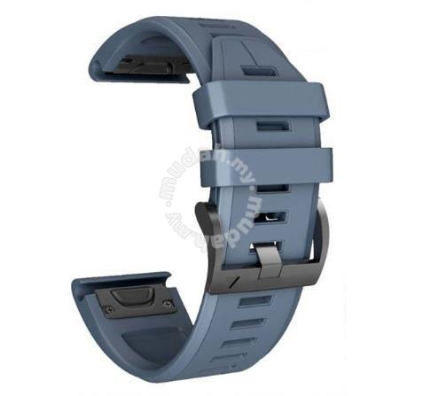 Garmin Fenix 5 Plus Navy Blue QuickFit Watch Band - Watches & Fashion  Accessories for sale in Melaka Tengah, Melaka