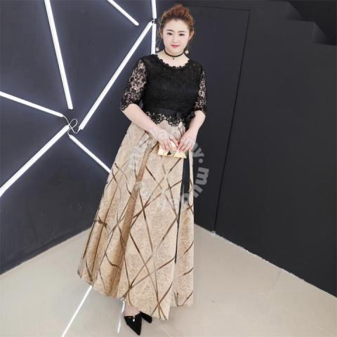 Kimono plus size dress