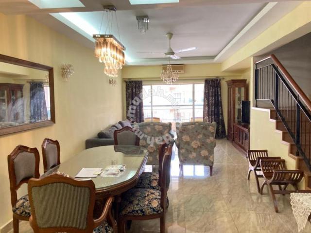 Seri Maya Penthouse Renovated 4 Proper Rooms Facing Pool Next ...