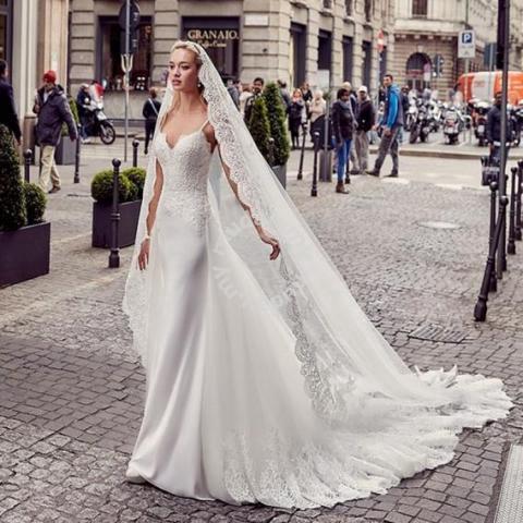 Detachable Wedding Dress.White Mermaid Detachable Wedding Gown Rb1294 Wedding For Sale In Johor Bahru Johor