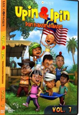 dvd upin dan ipin dan kawan kawan vol 7 music movies books
