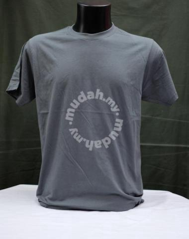 Baju Tshirt Kosong Dewasa Lengan Pendek 170gsm Clothes For Sale In Tuaran Sabah Mudah My