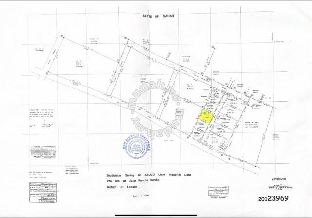 Labuan industrial land for Sale