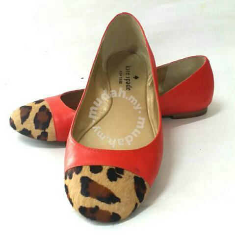 b8f366603ab2 Kate Spade Terry Calf Hair Ballerina Flat - Shoes for sale in Johor ...