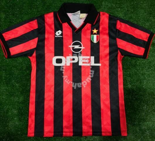 big sale 3ad8c 06666 Authentic AC Milan Player Issue jersey jersi 1996 - Sports & Outdoors for  sale in Cheras, Kuala Lumpur