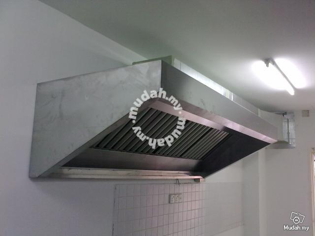 Restaurant Cooker Hood Exhaust Fan Professional Business Equipment For In Kajang Selangor