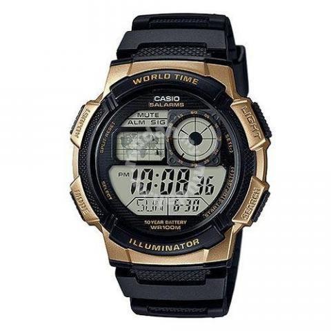 e924c819a860 CASIO Men World Time Sport Watch AE-1000W-1A3VDF - Watches ...