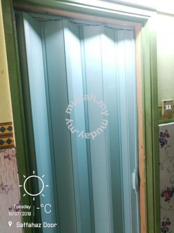 Pintu Tandas Pvc Lipat Premier Bed
