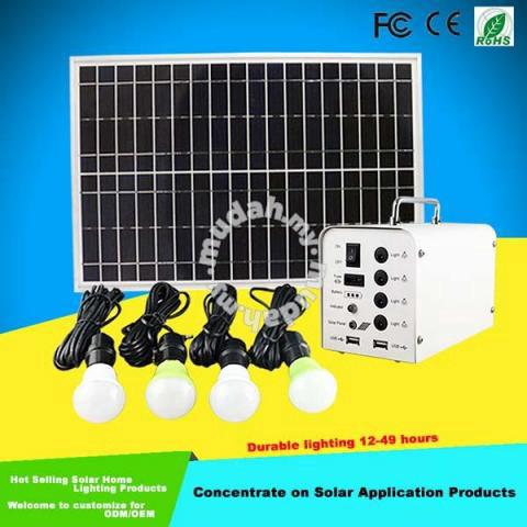 Solar Power Lighting System For House Appliances - Home Appliances &  Kitchen for sale in Kuchai Lama, Kuala Lumpur
