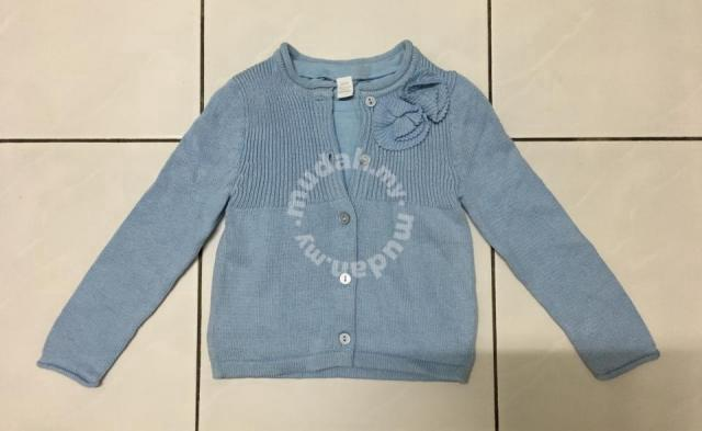3bec40425 Baby sweater + shirt (Blue for girls) - Moms   Kids for sale in Kuching ...