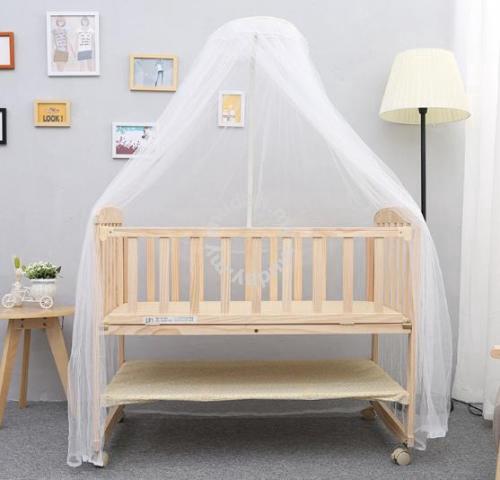 Baby Cot Katil Bayi Infant Bed Ikea
