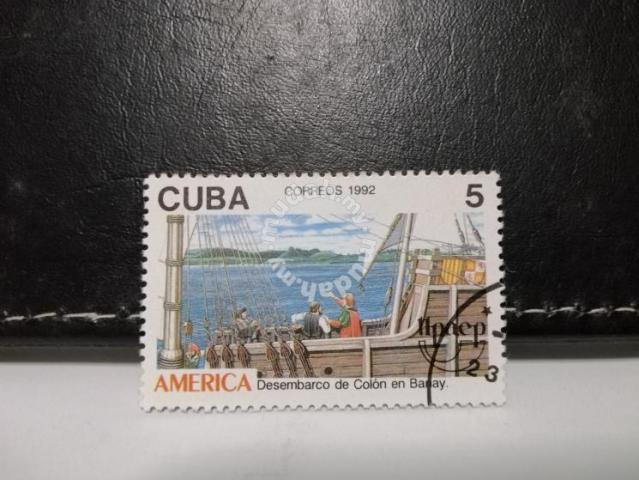 1992 Cuba Stamp Columbus discovered America - Hobby & Collectibles for sale  in Petaling Jaya, Selangor