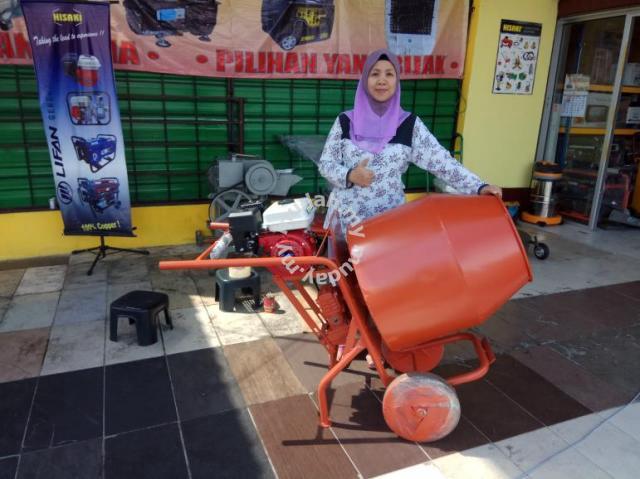 Hisaki Mini Concrete Mixer Mesin