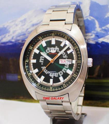 Seiko 5 Sports Srpb13k1 Automatic 44mm Green Dial Watches Fashion Accessories For Sale In Kota Damansara Selangor