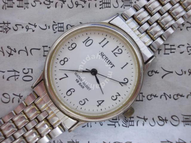 2a89cdb7092 Original Script Japan lady watch - Watches   Fashion Accessories for sale  in Kuching