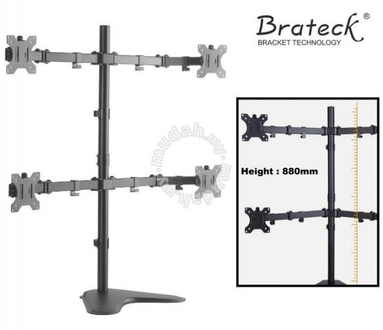 Brateck 13 32 Inch Double Joint Bracket Mount Furniture