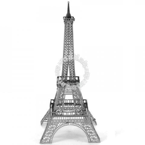 3D Nano Steel Laser Cut Puzzle - Eiffel Tower - Hobby & Collectibles for  sale in Seremban, Negeri Sembilan