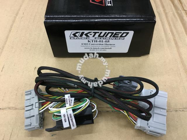 K-Tuned K Swap Conversion Harness Honda Civic ES - Car Accessories on