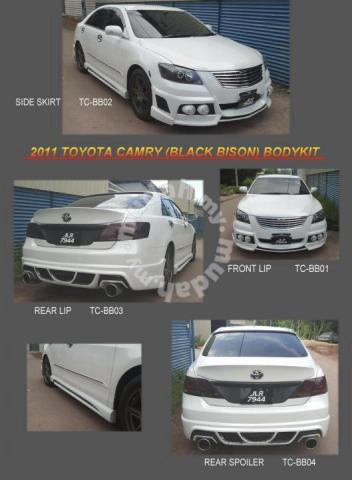 Toyota Camry Accessories >> Toyota Camry Xv40 09 12 Bumper Bodykit Body Kit Car