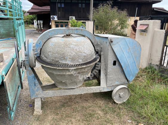 Concrete Mixer Bancuh Simen Sewa Jual